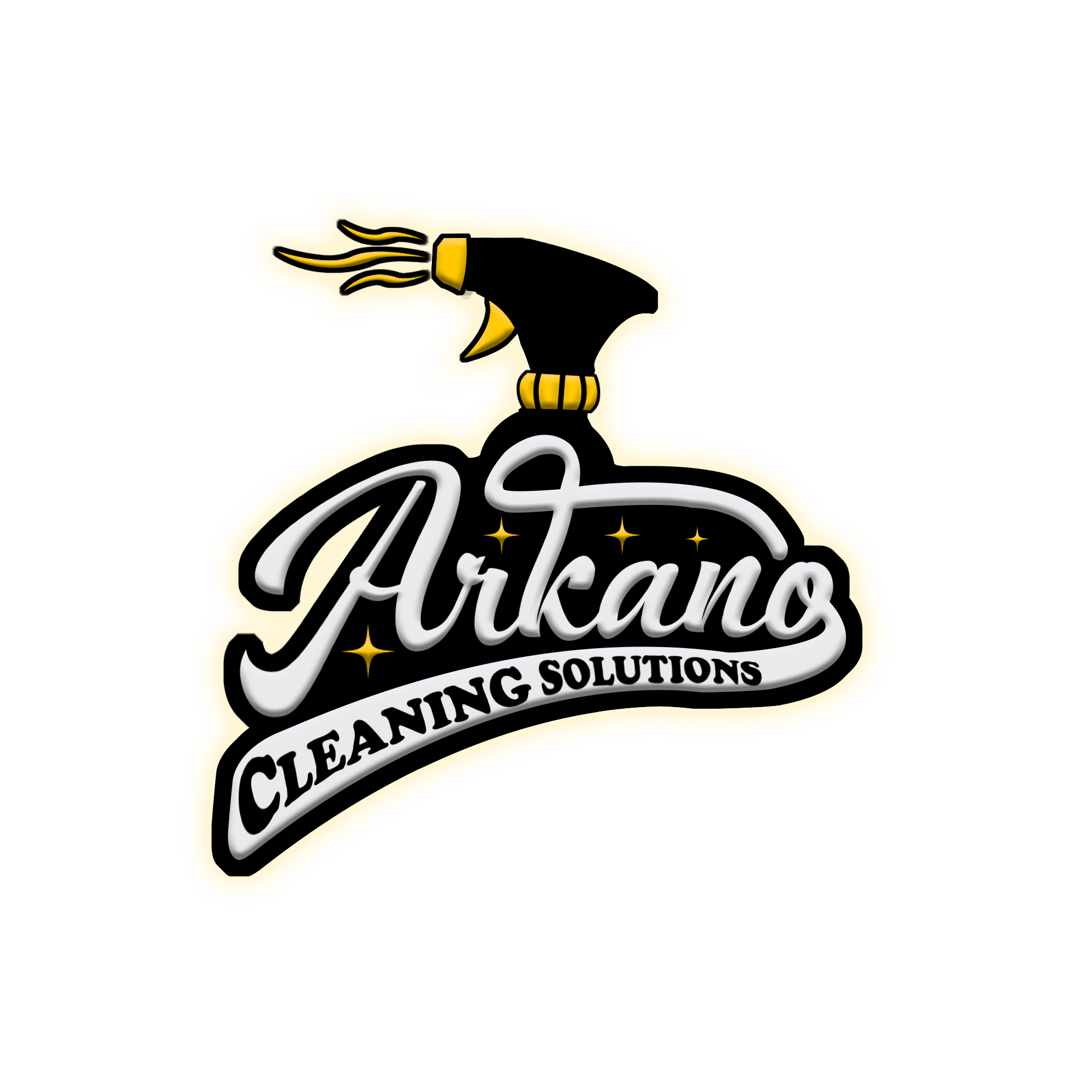 Logo with Glow(Gold) Background(transparent)